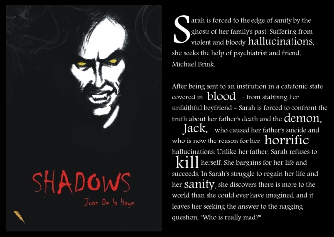 Shadows postcard
