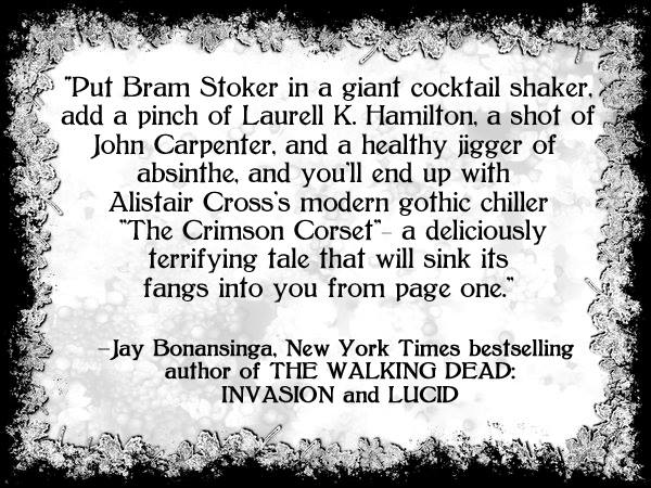 Blurb by Jay Bonansinga for CC