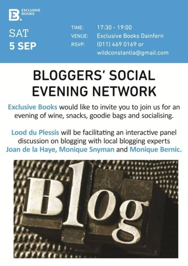 Bloggers social flyer